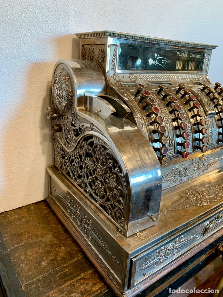 Antigüedades: CAJA REGISTRADORA NATIONAL - Foto 2 - 166855995