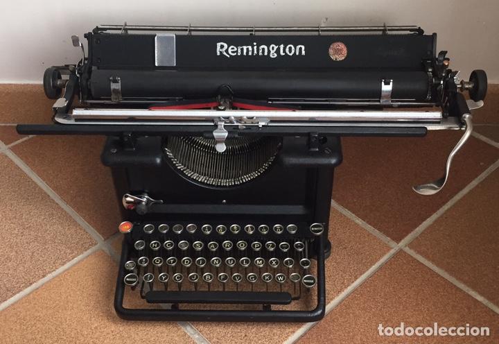 ANTIGUA Y ESPECTACULAR MÁQUINA DE ESCRIBIR REMINGTON USA 1920 (Antigüedades - Técnicas - Máquinas de Escribir Antiguas - Remington)