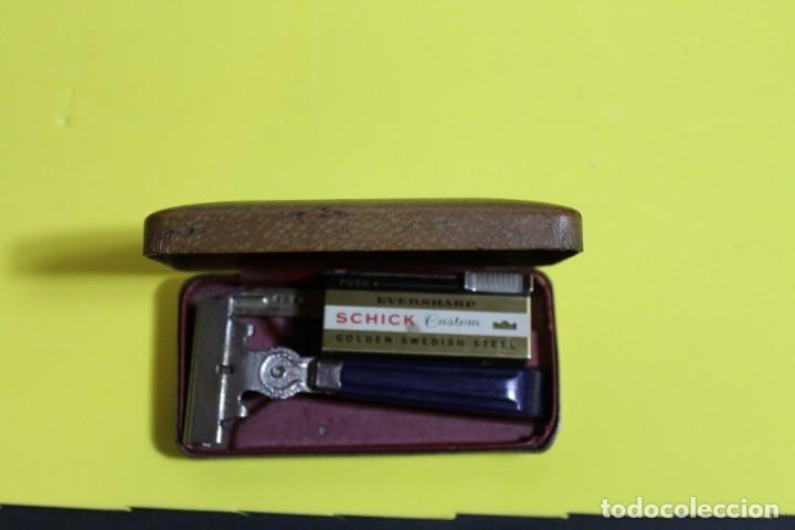 MAQUINILLA EVERSHARP SHICK CON ESTUCHE ORIGINAL (Antigüedades - Técnicas - Barbería - Maquinillas Antiguas)