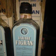 Antigüedades: LOTE DE JARABE YODALGON Y FIGRAN. Lote 176915458