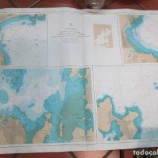 Oggetti Antichi: CARTA NAUTICA PORTULANOS DE ' FUNAFUTI ATOLL ' ATOLON - ALMIRANTAZGO Nº 2983 1994 106X71CM + INFO. Lote 176933022