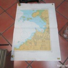Antigüedades: CARTA NAUTICA ' VILLAGARCIA DE AROSA ' - ALMIRANTAZGO Nº 1762 2001 106X71CM + INFO. Lote 176934259