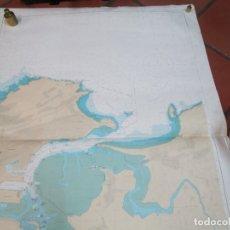 Antigüedades: CARTA NAUTICA ' PUERTO SANTANDER ' - INSTITUTO HIDROGRAFICO Nº 4011 2001 120X85CM + INFO. Lote 176934833