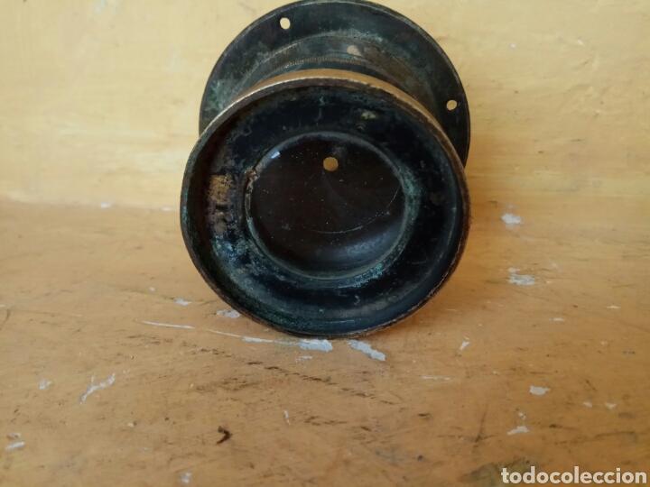 Antigüedades: Visor de cámara antigua de fotos 8 cm - Foto 5 - 176975987