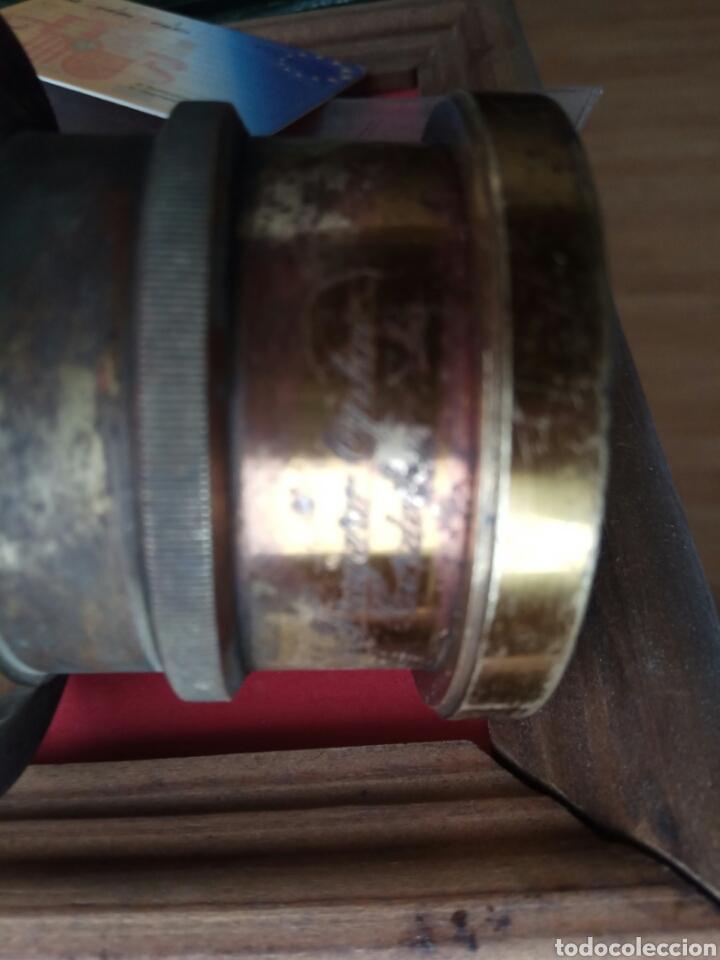Antigüedades: Visor de cámara antigua de fotos 8 cm - Foto 7 - 176975987