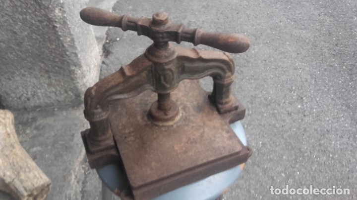 PRENSA DE LIBROS, IMPRENTA (Antigüedades - Técnicas - Herramientas Profesionales - Imprenta)