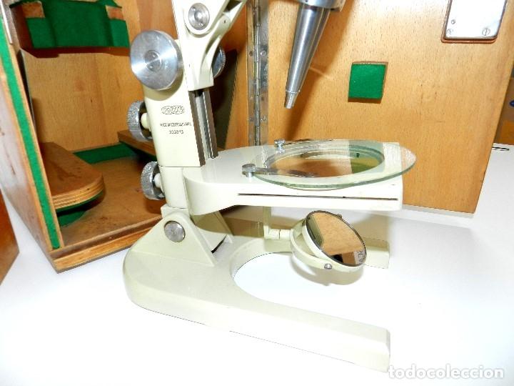 Antigüedades: Microscopio Meopta - Foto 2 - 177024593