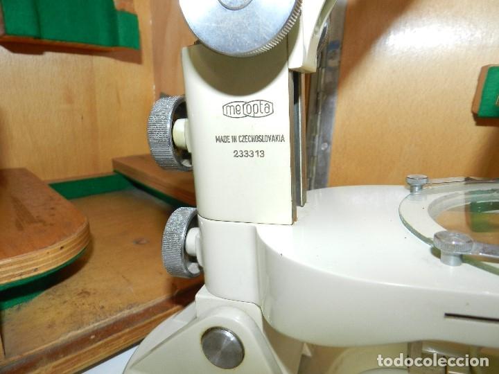 Antigüedades: Microscopio Meopta - Foto 3 - 177024593