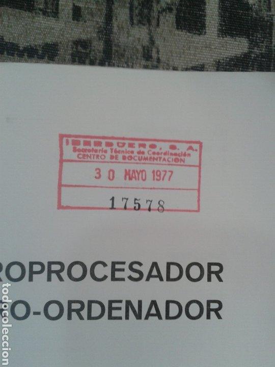 Antigüedades: Del microprocesador al microordenador. Lilen. Marcombo. 1976. - Foto 2 - 177045337