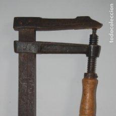 Antigüedades: GATO, SARGENTO ACESA DE CARPINTERO. 1,05 M. Lote 177065877