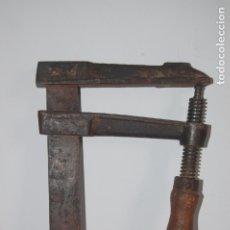 Antigüedades: GATO, SARGENTO ACESA DE CARPINTERO. 0,85 M. Lote 177066082