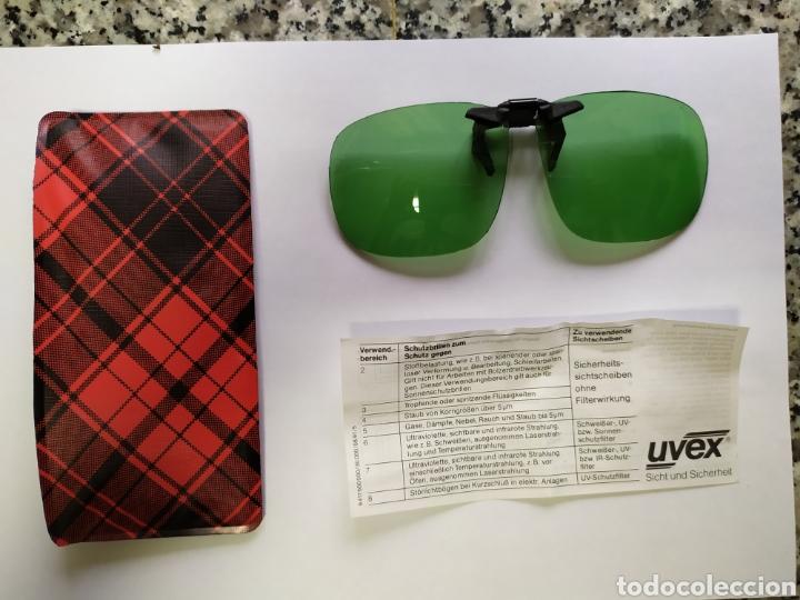 GAFAS DE SEGURIDAD MARCA UVEX. VINTAGE (Antigüedades - Técnicas - Instrumentos Ópticos - Gafas Antiguas)