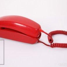Teléfonos: TELÉFONO GÓNDOLA DE SOBREMESA - COLOR ROJO - AÑOS 60 - CTNE / COMPAÑÍA TELEFÓNICA NACIONAL ESPAÑA. Lote 177116888