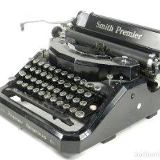 Antigüedades: MAQUINA DE ESCRIBIR SMITH PREMIER NOISELESS 81 AÑO 1935 TYPEWRITER SCHREIBMASCHINE. Lote 177179419