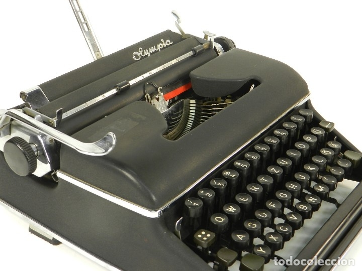 MAQUINA DE ESCRIBIR OLYMPIA SM2 AÑO 1955 TYPEWRITER SCRHEIBMASCNINE (Antigüedades - Técnicas - Máquinas de Escribir Antiguas - Otras)