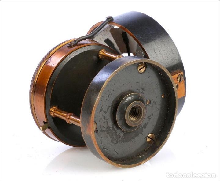 Antigüedades: Antiguo Anemómetro en su Estuche. Inglaterra, Circa 1900 - Foto 6 - 177184439