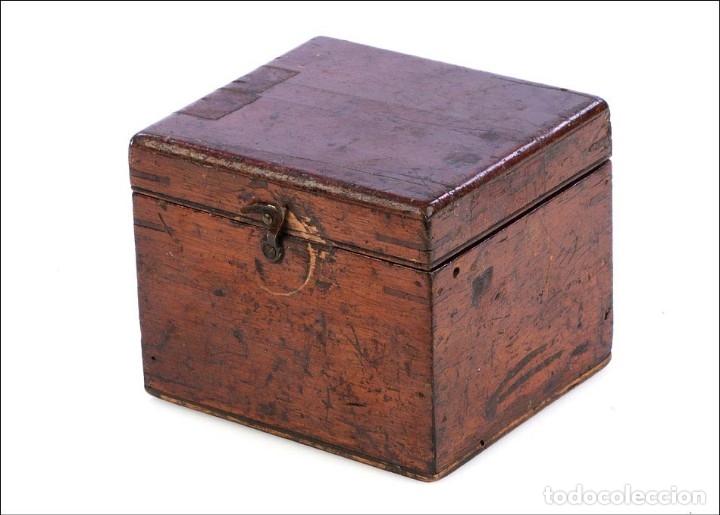 Antigüedades: Antiguo Anemómetro en su Estuche. Inglaterra, Circa 1900 - Foto 12 - 177184439