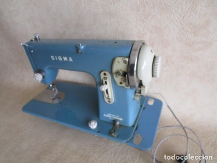 antigua maquina coser sigma modelo l estarta y - Comprar