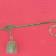 Antigüedades: ANTIGUA ROMANA DE HIERRO SIGLO XIX FUERZA 140 K. Lote 177256738