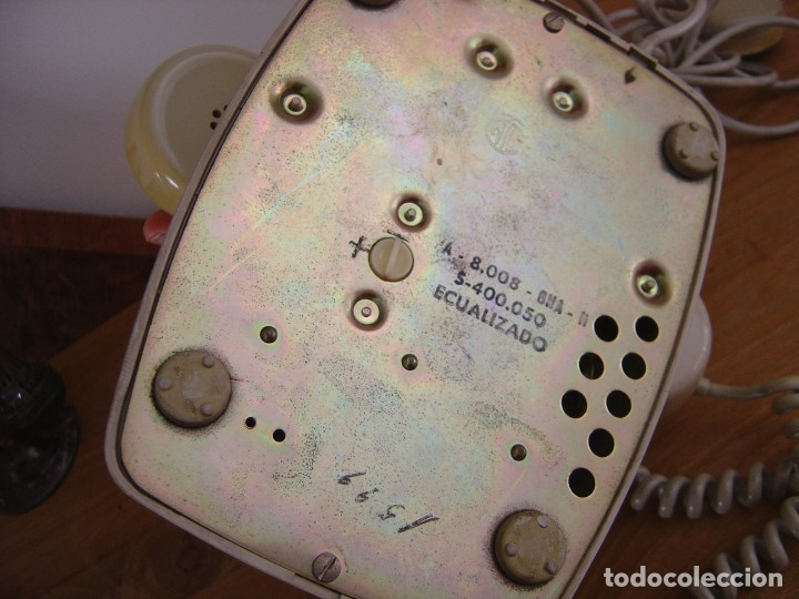 Teléfonos: TELÉFONO MODELO HERALDO. FUNCIONANDO. EXCELENTE ESTADO. - Foto 4 - 177204345