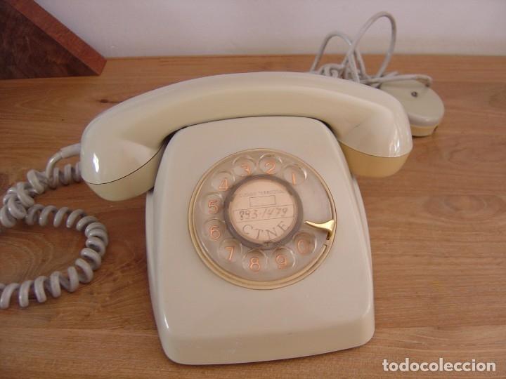 TELÉFONO MODELO HERALDO. FUNCIONANDO. EXCELENTE ESTADO. (Antigüedades - Técnicas - Teléfonos Antiguos)