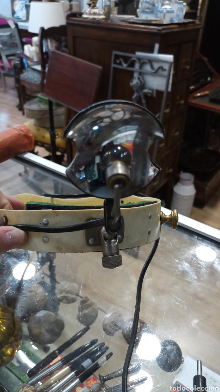 Antigüedades: Luz de médico/dentista de cabeza. Antigua. - Foto 2 - 177295500