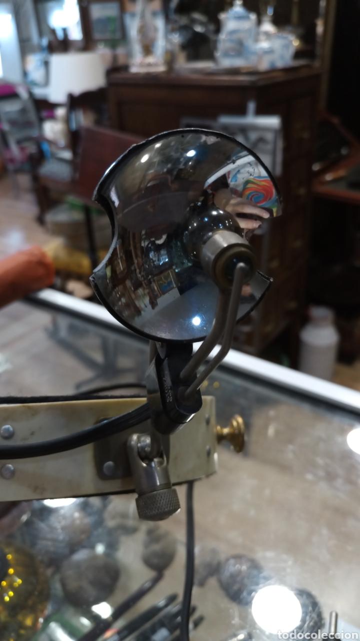 Antigüedades: Luz de médico/dentista de cabeza. Antigua. - Foto 3 - 177295500