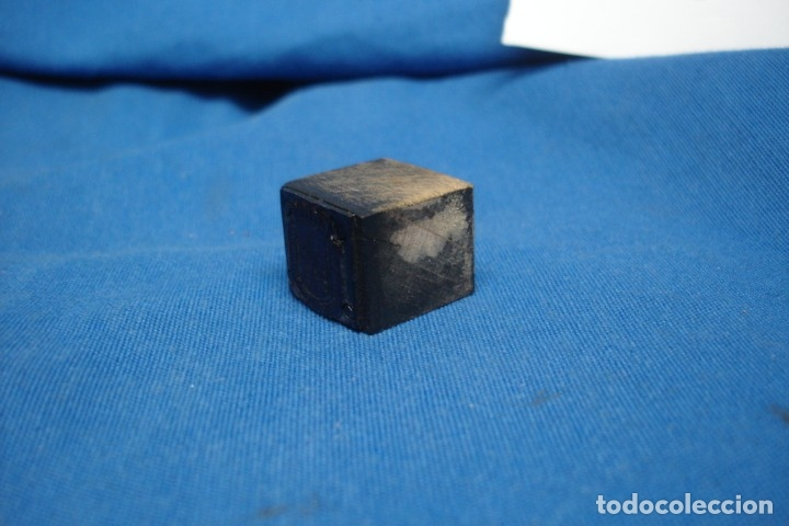 Antigüedades: ANTIGUO SELLO, TAMPÓN EN MADERA DE IBERCAJA - Foto 2 - 177316204