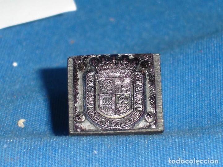 Antigüedades: ANTIGUO SELLO, TAMPÓN EN MADERA DE IBERCAJA - Foto 3 - 177316204