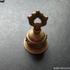 Antigüedades: MUY ANTIGUA CAMPANITA LLAMADOR DEL SIGLO XVIII. Lote 177333307