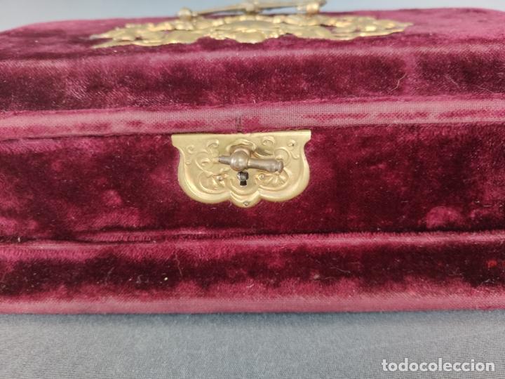 Antigüedades: COSTURERO VICTORIANO DE VIAJE - Foto 8 - 177398757