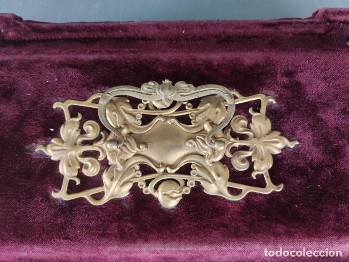 Antigüedades: COSTURERO VICTORIANO DE VIAJE - Foto 9 - 177398757