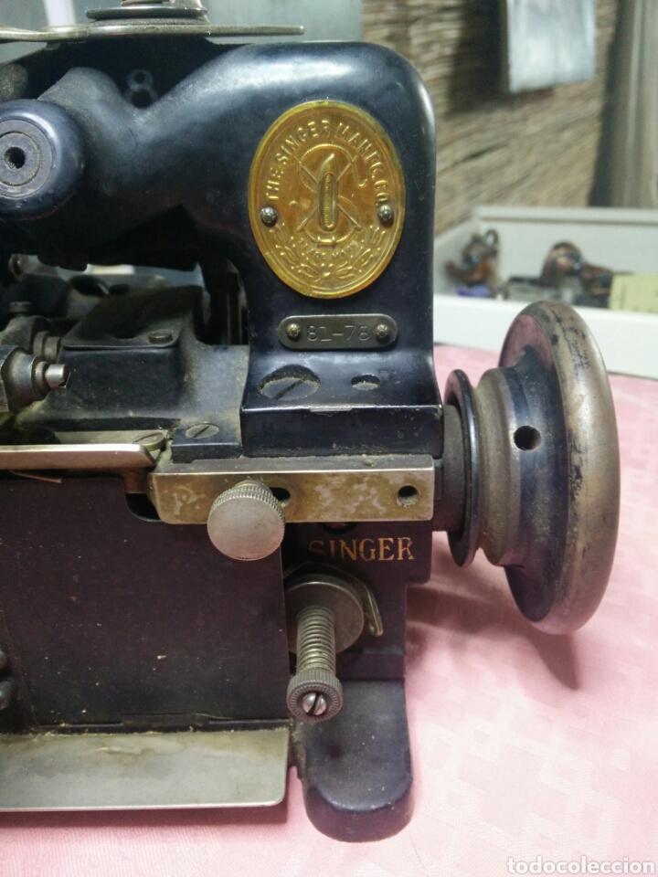Antigüedades: Maquina de coser sombreros - Foto 2 - 177408879