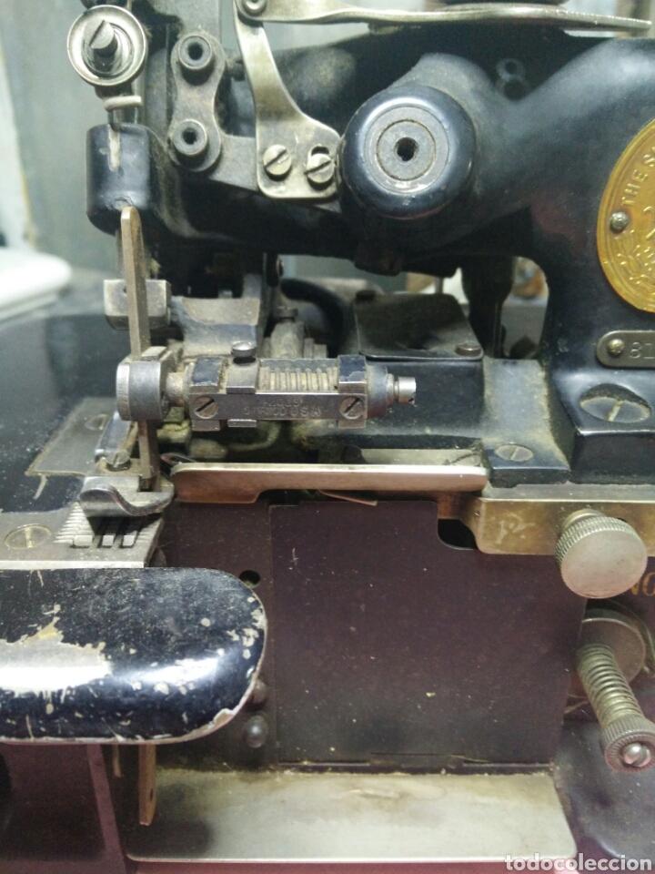 Antigüedades: Maquina de coser sombreros - Foto 3 - 177408879
