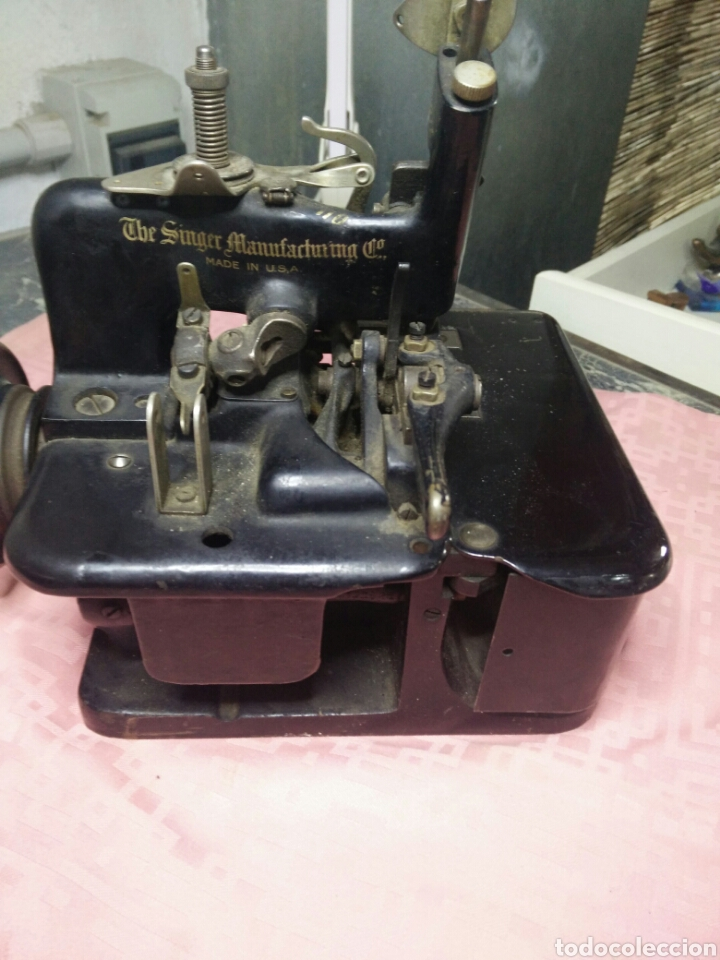 Antigüedades: Maquina de coser sombreros - Foto 6 - 177408879