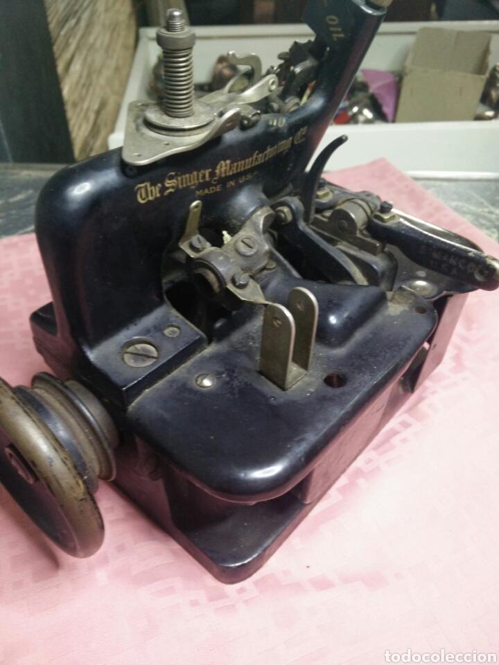 Antigüedades: Maquina de coser sombreros - Foto 8 - 177408879