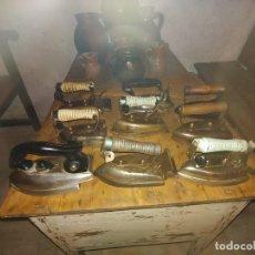 Antigüedades: LOTE DE 9 PLANCHAS ANTIGUAS. Lote 177462130