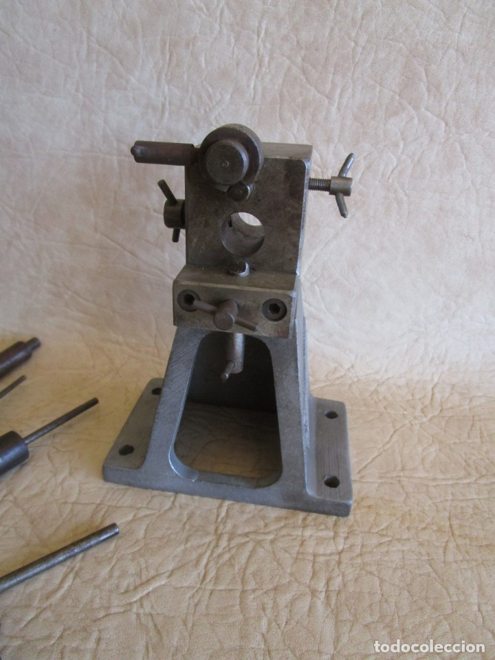 Antigüedades: antigua maquina de hacer muelles roi springs - Foto 4 - 177465497