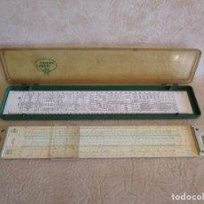 Antigüedades: REGLA DE CALCULO FABER CASTELL 2/83 N NOVO DUPLEX . Lote 177466115