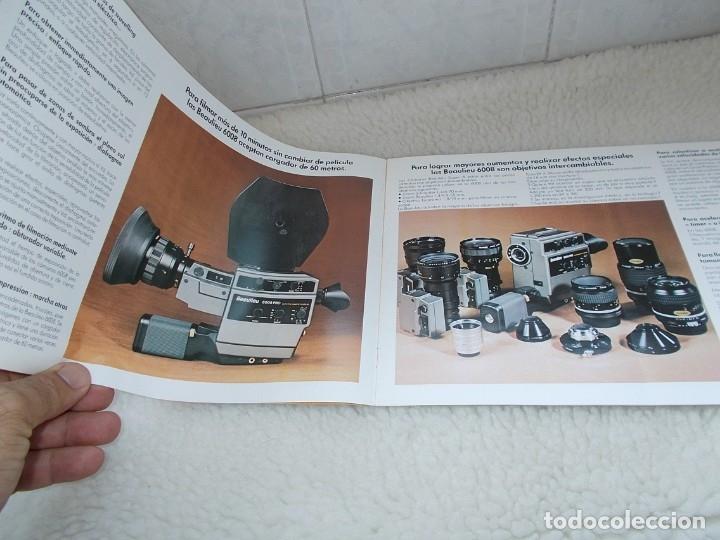 Antigüedades: Envio con TC: 3,50€ Folleto Original Español BEAULIEU Camara & Proyector & Accesorios - Foto 3 - 177472460