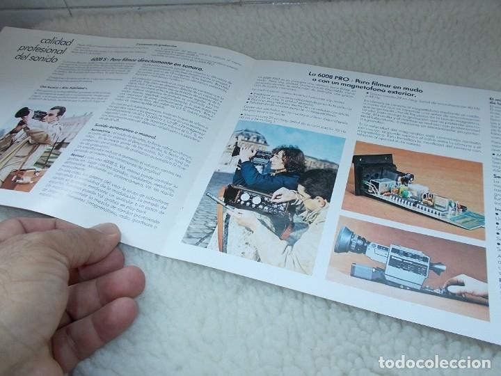 Antigüedades: Envio con TC: 3,50€ Folleto Original Español BEAULIEU Camara & Proyector & Accesorios - Foto 4 - 177472460