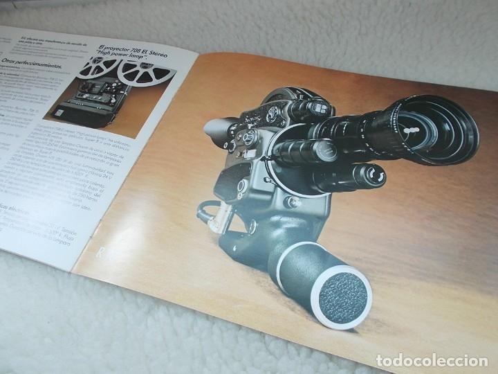 Antigüedades: Envio con TC: 3,50€ Folleto Original Español BEAULIEU Camara & Proyector & Accesorios - Foto 5 - 177472460