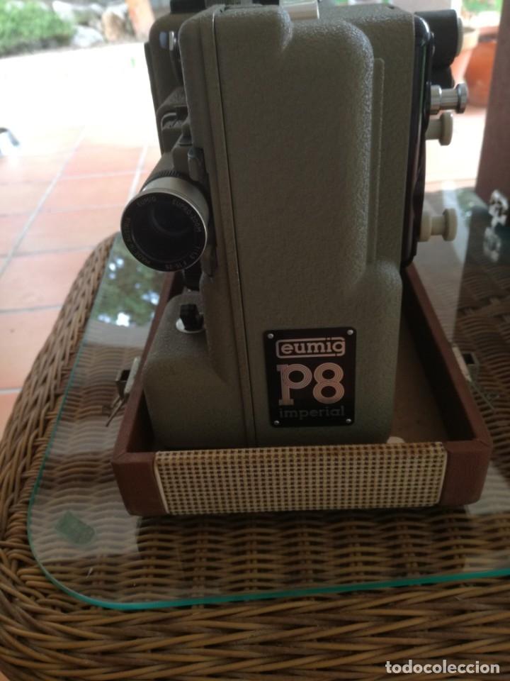Antigüedades: Reproductor películas Emuig P8 imperial. Impecable - Foto 2 - 177496240