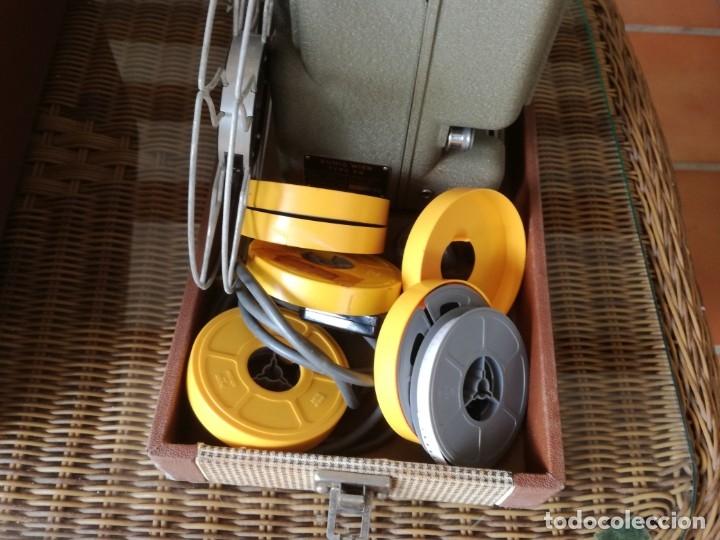 Antigüedades: Reproductor películas Emuig P8 imperial. Impecable - Foto 5 - 177496240