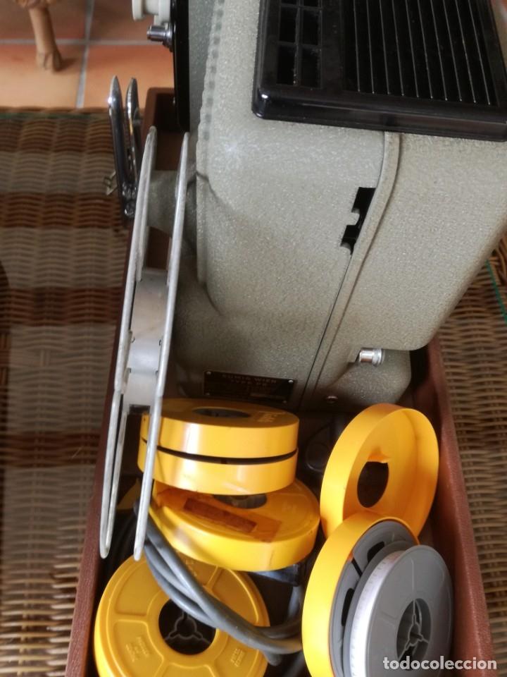 Antigüedades: Reproductor películas Emuig P8 imperial. Impecable - Foto 7 - 177496240
