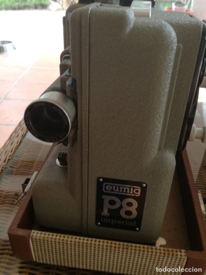 Antigüedades: Reproductor películas Emuig P8 imperial. Impecable - Foto 8 - 177496240