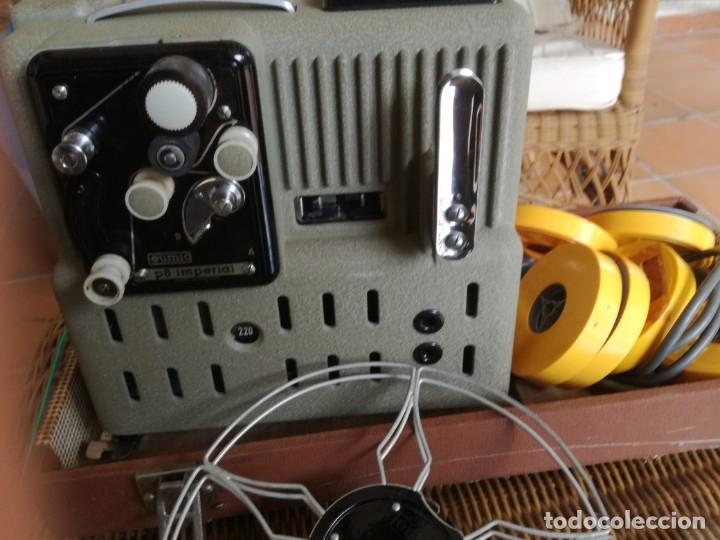 Antigüedades: Reproductor películas Emuig P8 imperial. Impecable - Foto 9 - 177496240