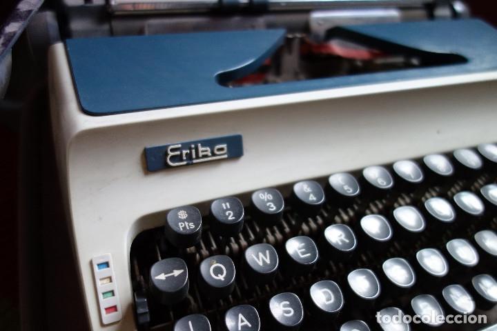 Antigüedades: Máquina escribir ERIKA vintage - Foto 2 - 177497963
