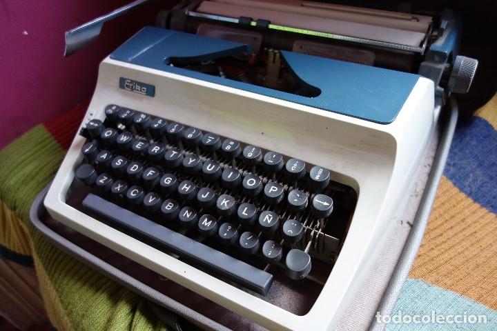 Antigüedades: Máquina escribir ERIKA vintage - Foto 3 - 177497963