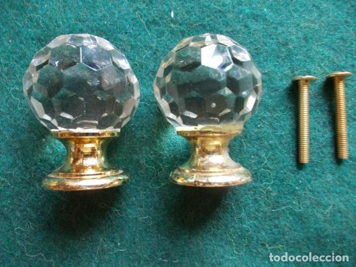 LOTE TIRADOR TIRADORES ANTIGUO (Antigüedades - Técnicas - Cerrajería y Forja - Tiradores Antiguos)
